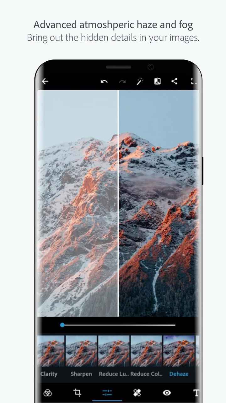 Adobe Photoshop Express screen 2