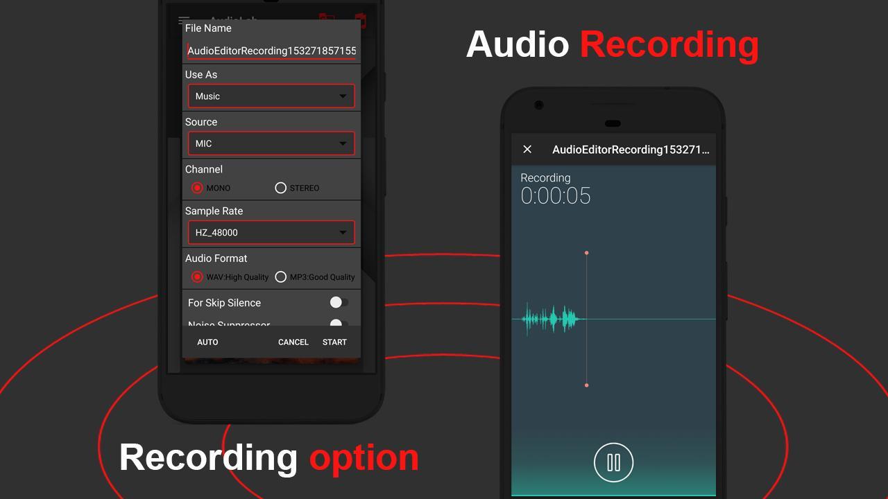 AudioLab screen 3