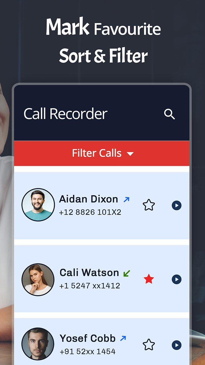 Automatic Call Recorder screen 3