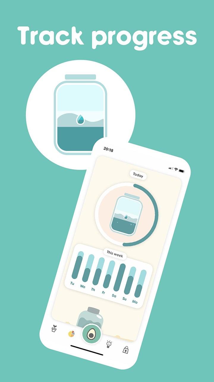 Avocation Habit Tracker screen 1