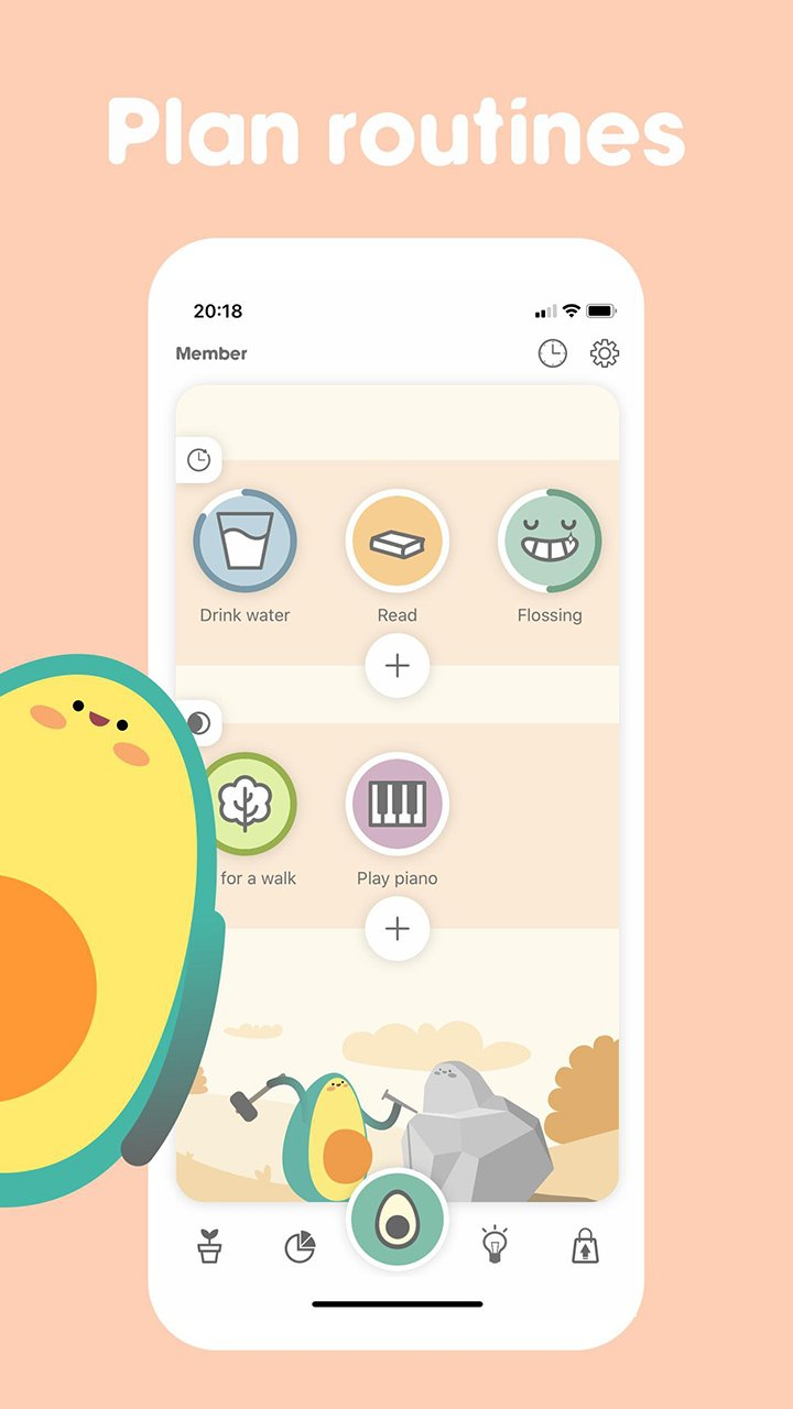 Avocation Habit Tracker screen 4