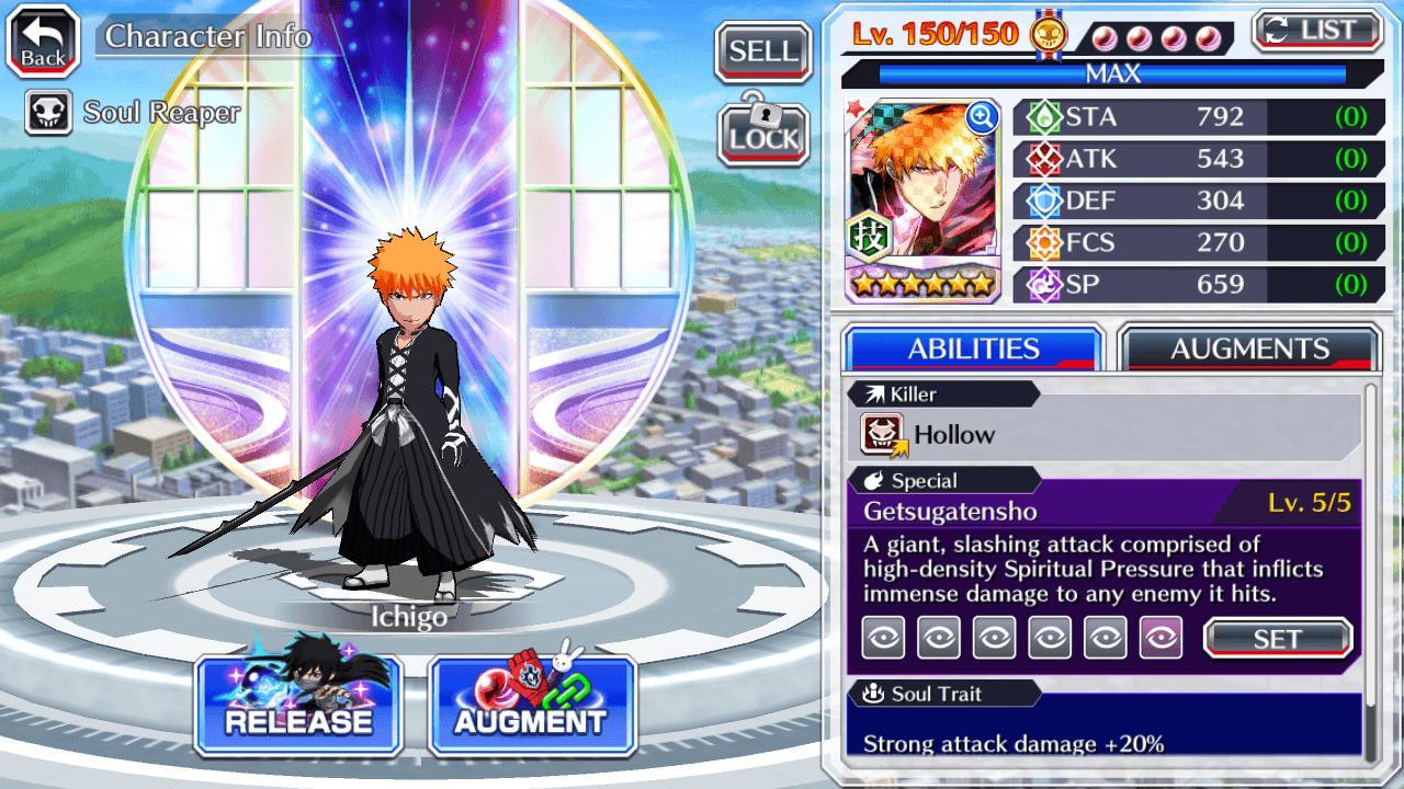 BLEACH Brave Souls screen 4