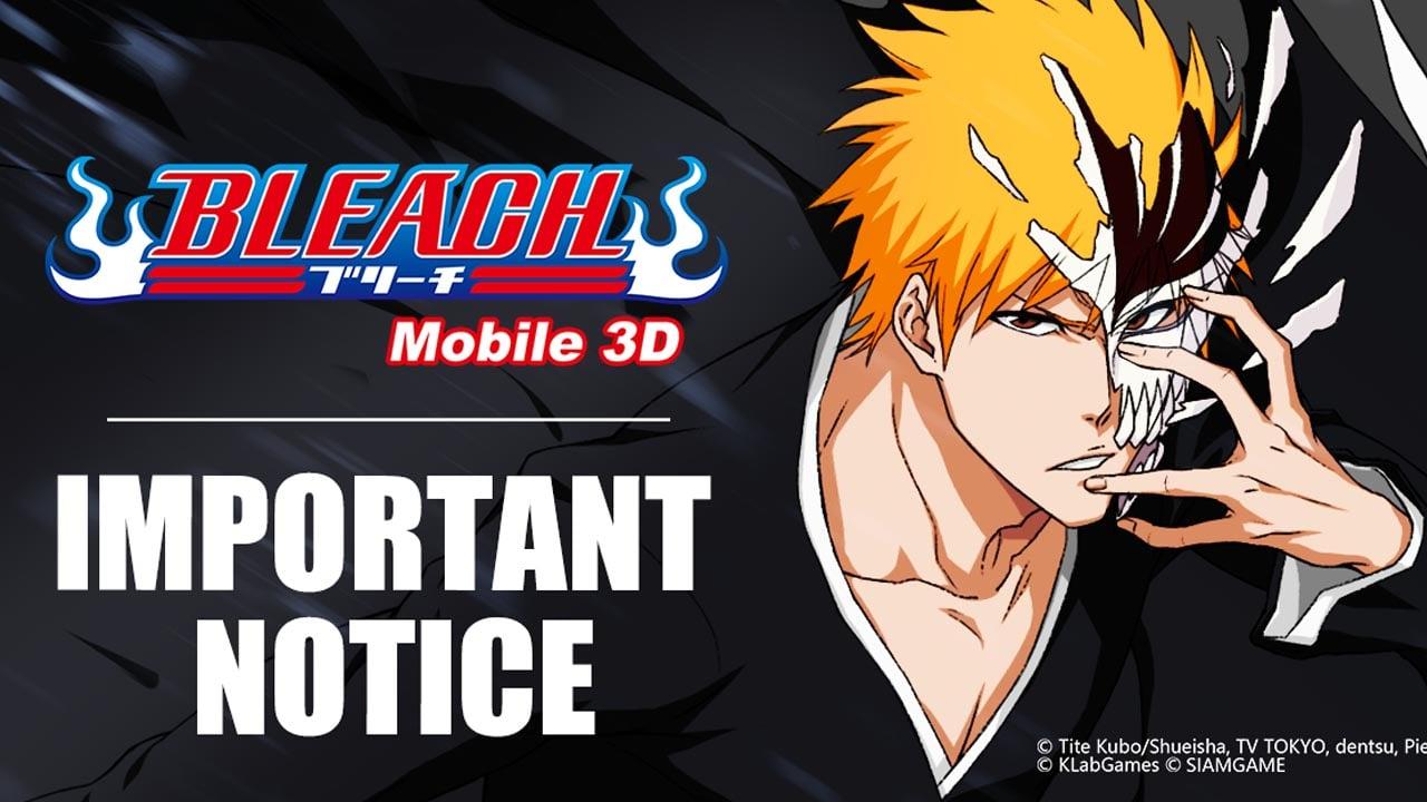 BLEACH Mobile 3D poster