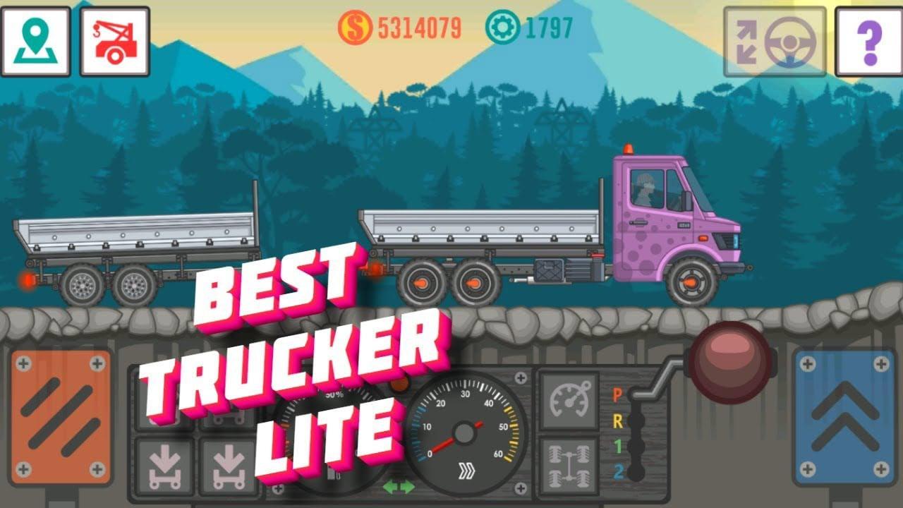 Best Trucker Lite poster