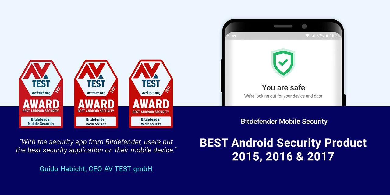 Bitdefender Mobile Security screen 0