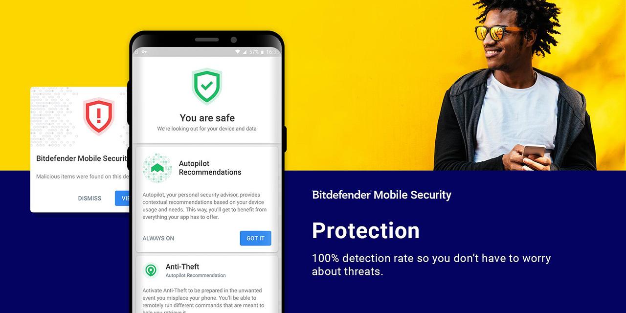 Bitdefender Mobile Security screen 1