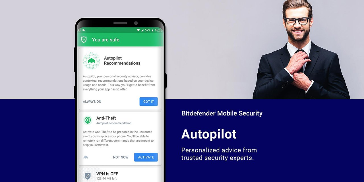 Bitdefender Mobile Security screen 3