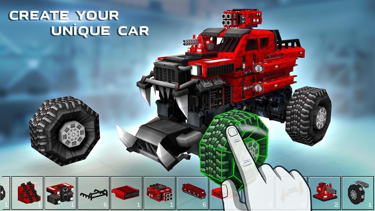 Blocky Cars screen 1