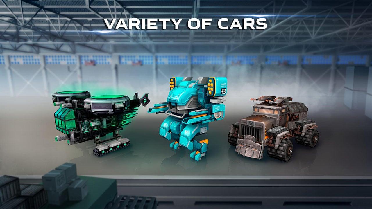 Blocky Cars screen 4