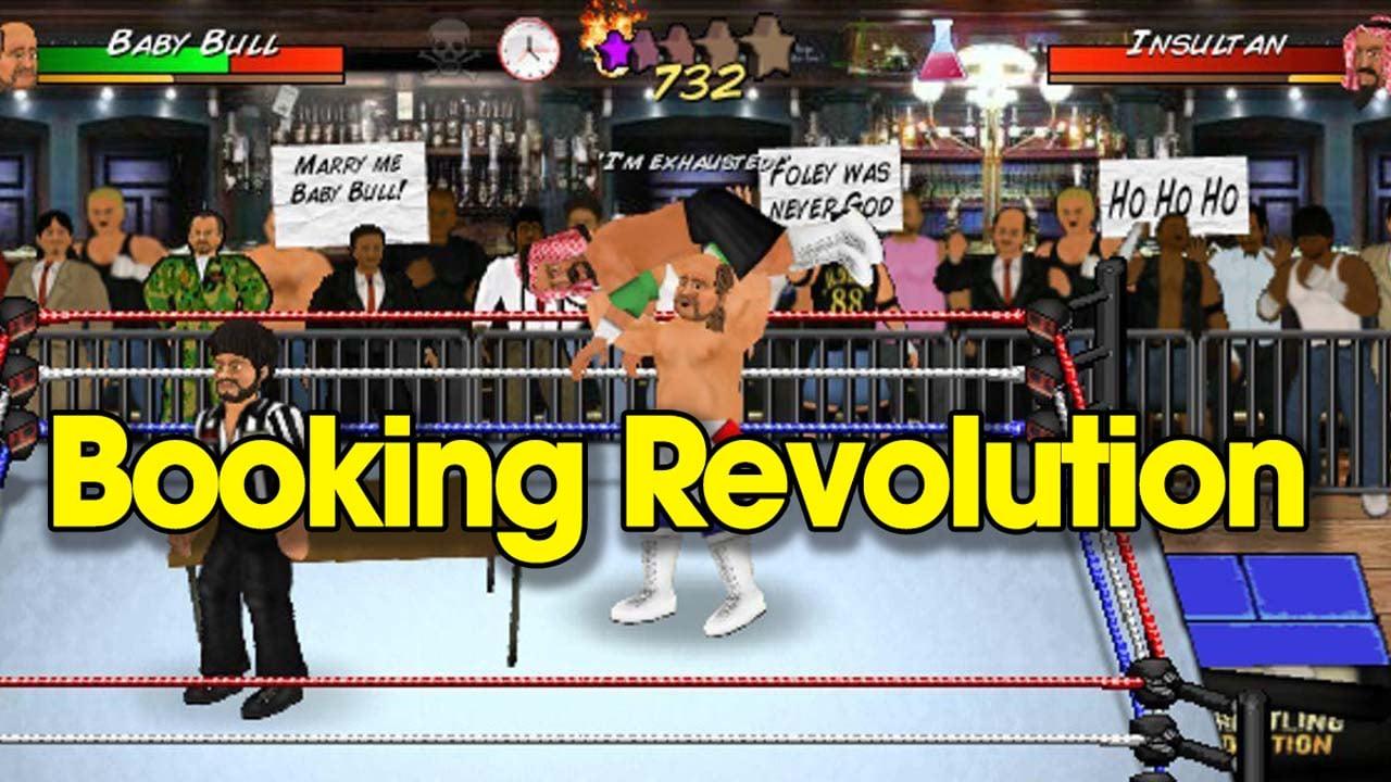 Booking Revolution poster
