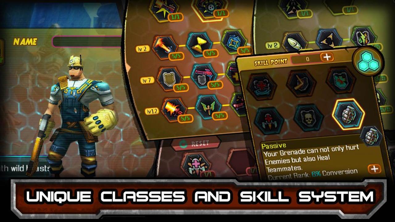 Bounty Hunter Black Dawn screen 1