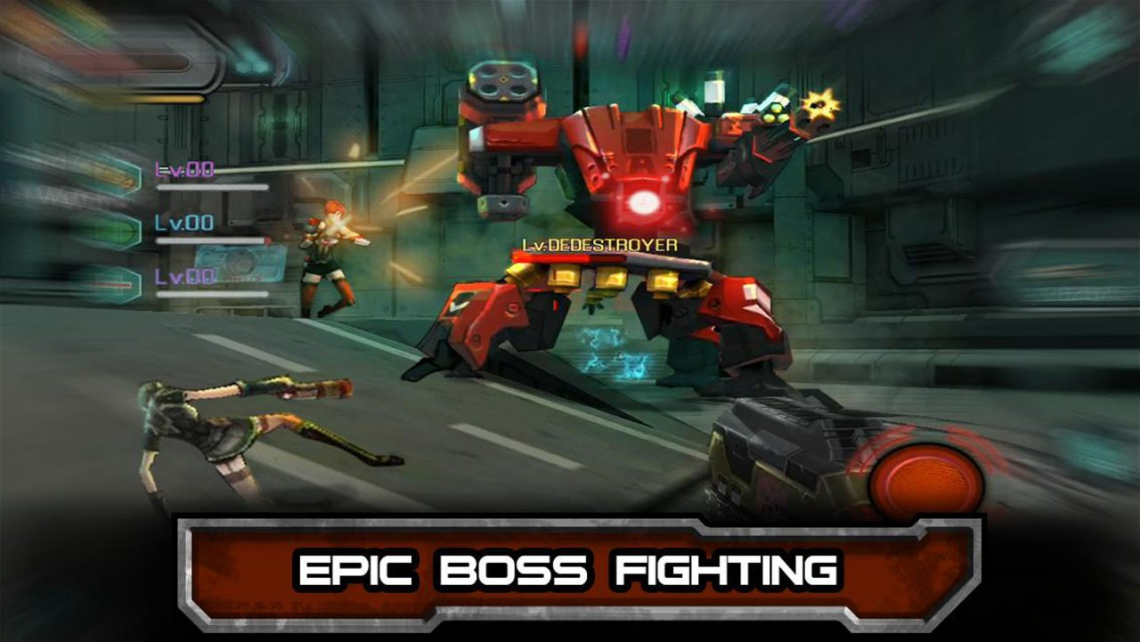 Bounty Hunter Black Dawn screen 2