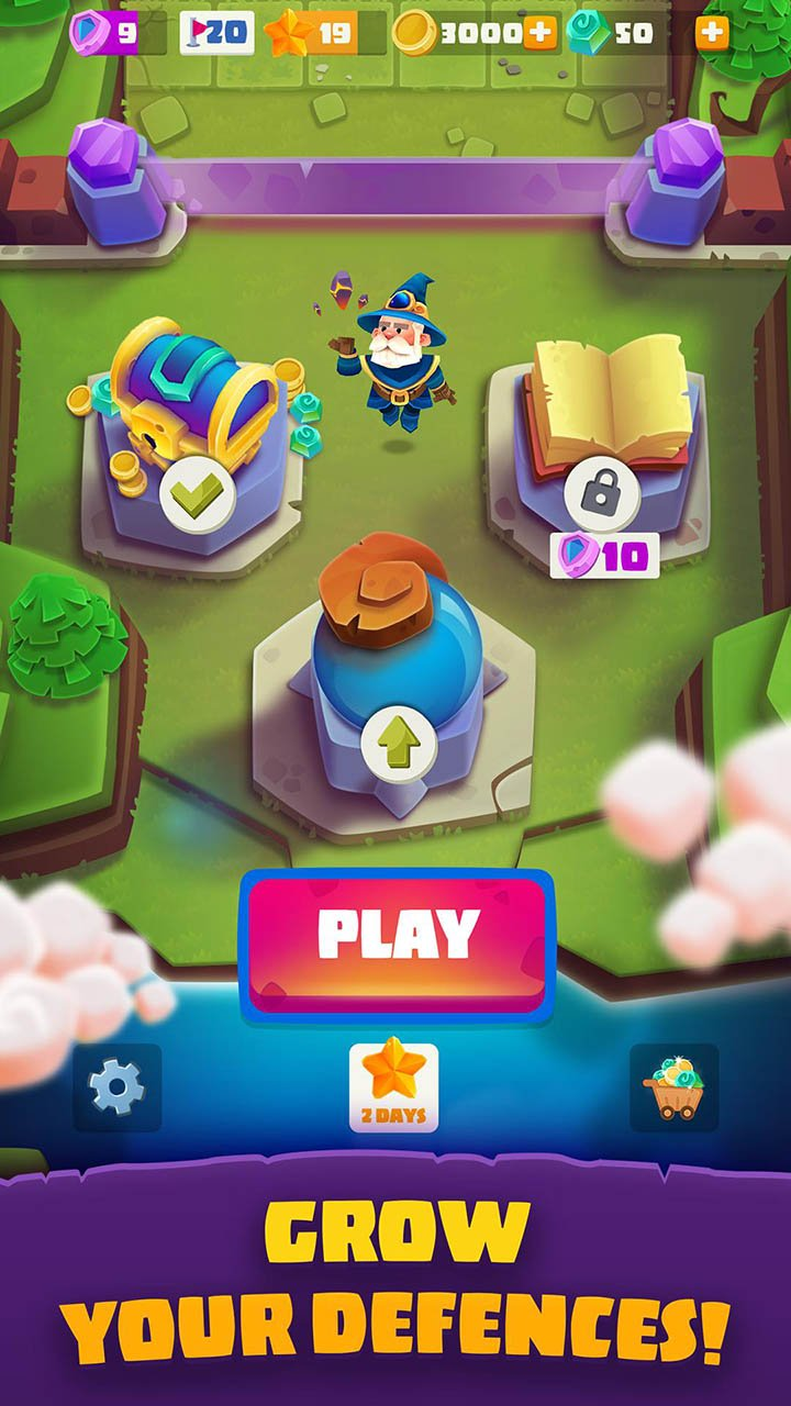 Bounzy screen 1