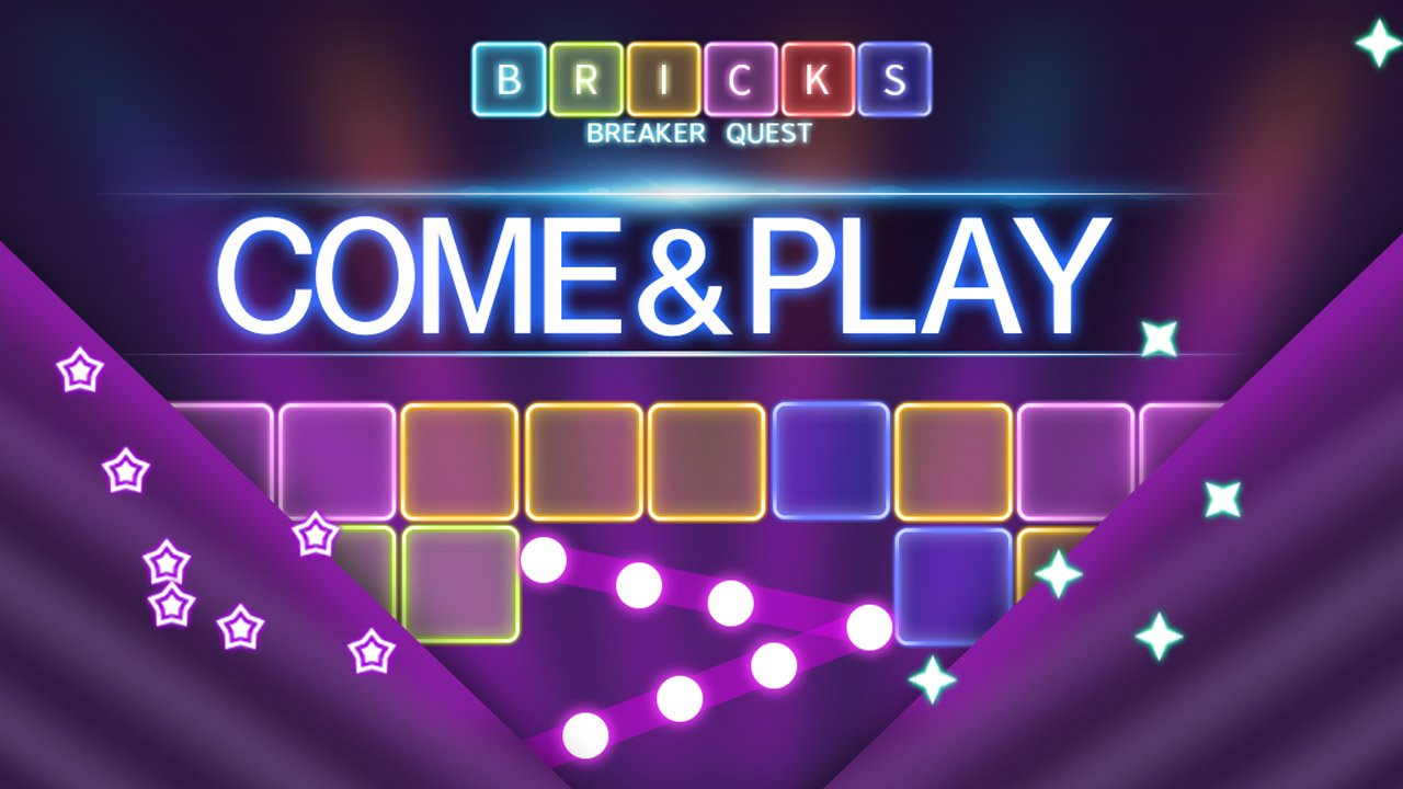 Bricks Breaker Quest poster