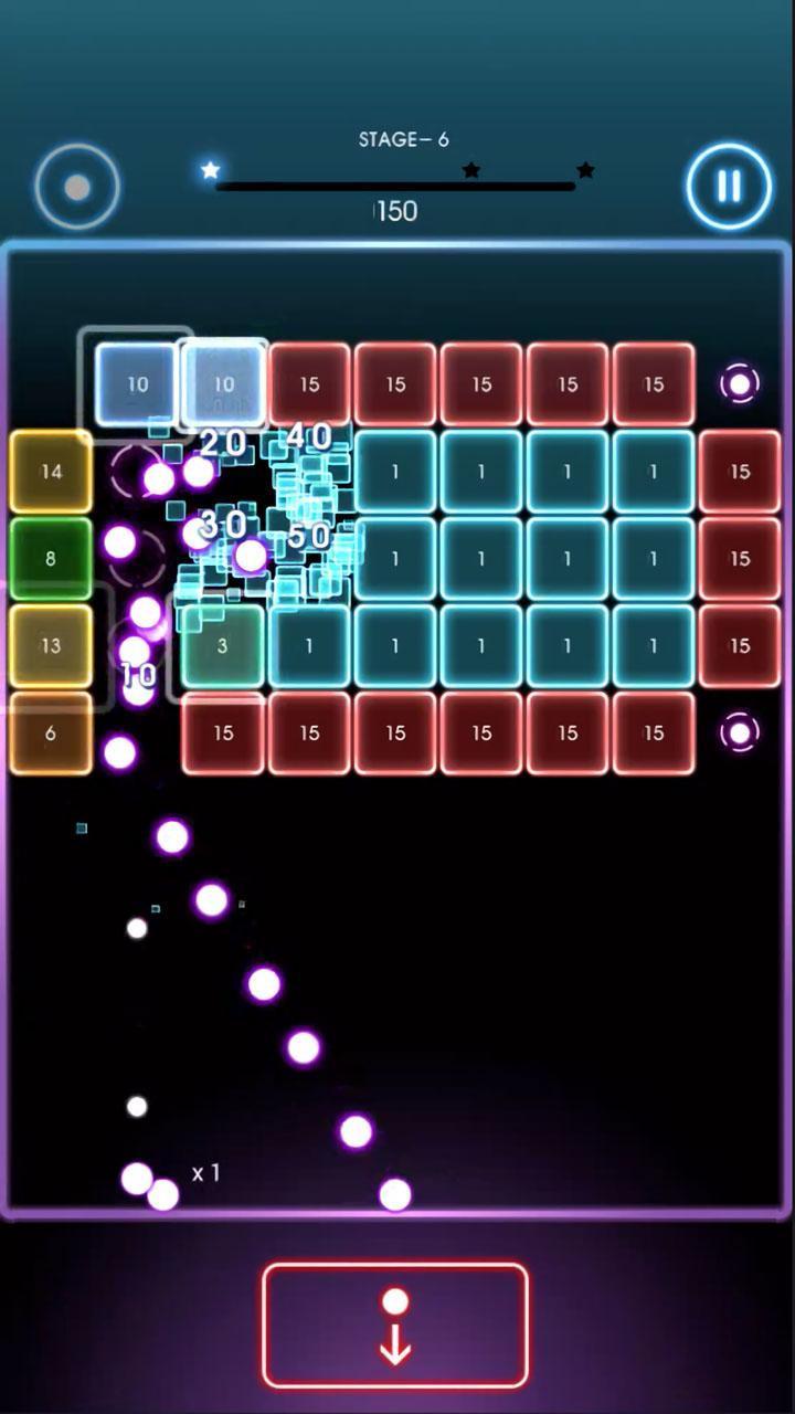 Bricks Breaker Quest screen 0