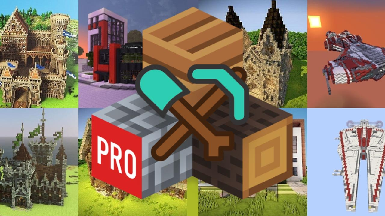 Builder PRO for Minecraft PE poster