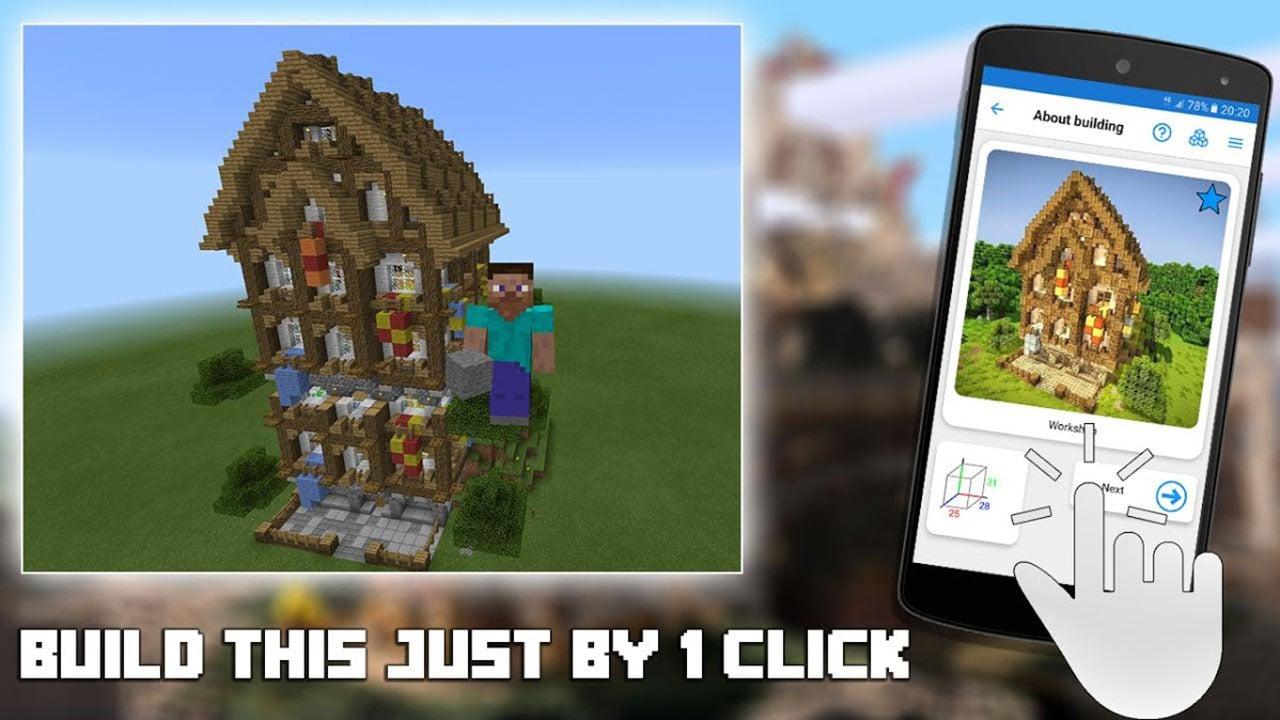 Builder PRO for Minecraft PE screen 1