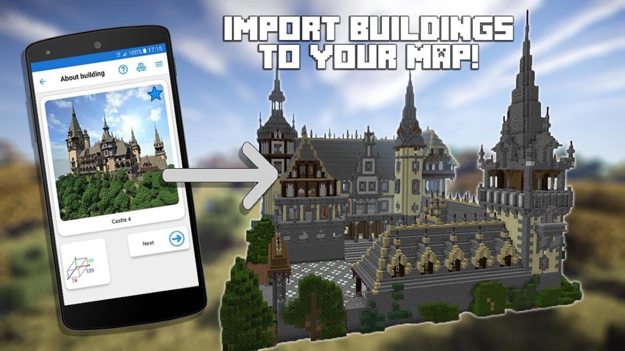 Builder PRO for Minecraft PE screen 2