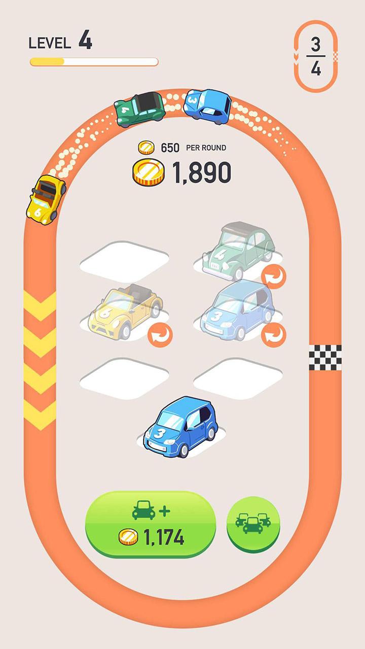 Car Merger screen 2