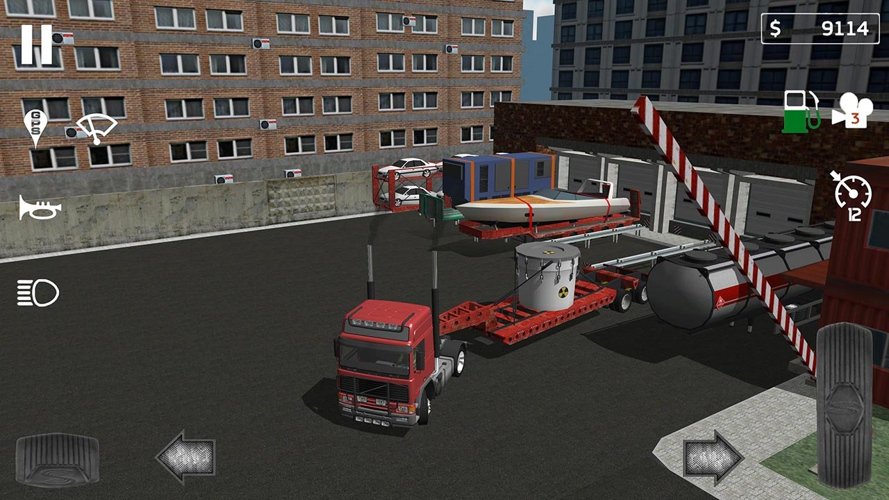 Cargo Transport Simulator screen 1