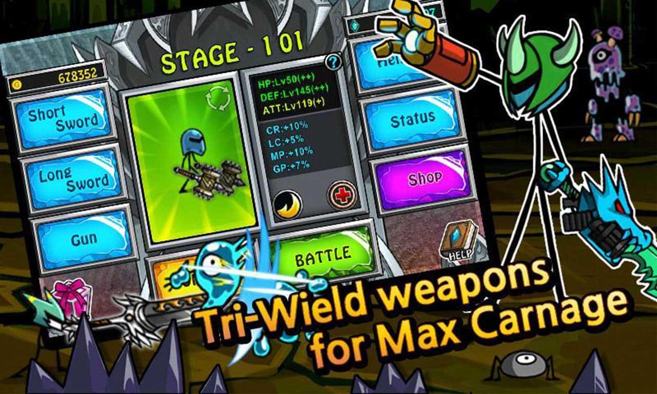 Cartoon Wars Blade screen 2