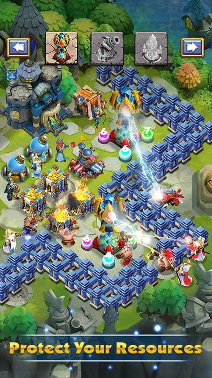 Castle Clash screen 2