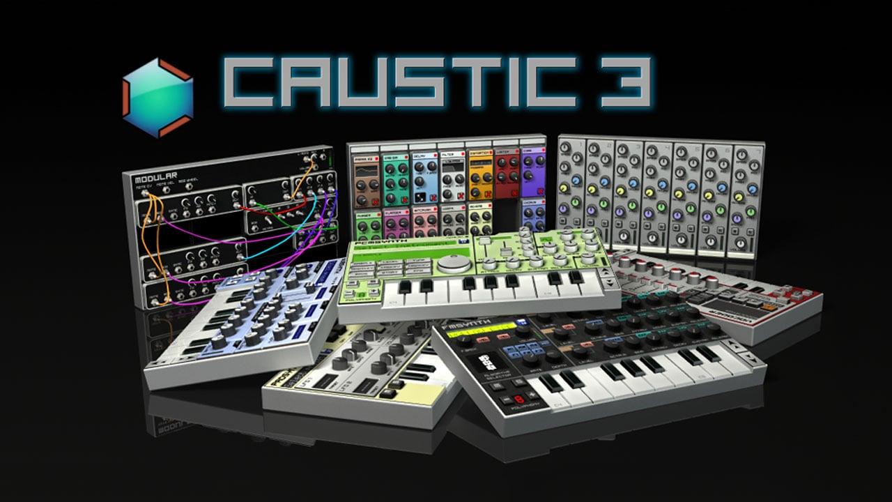 Caustic 3 poster