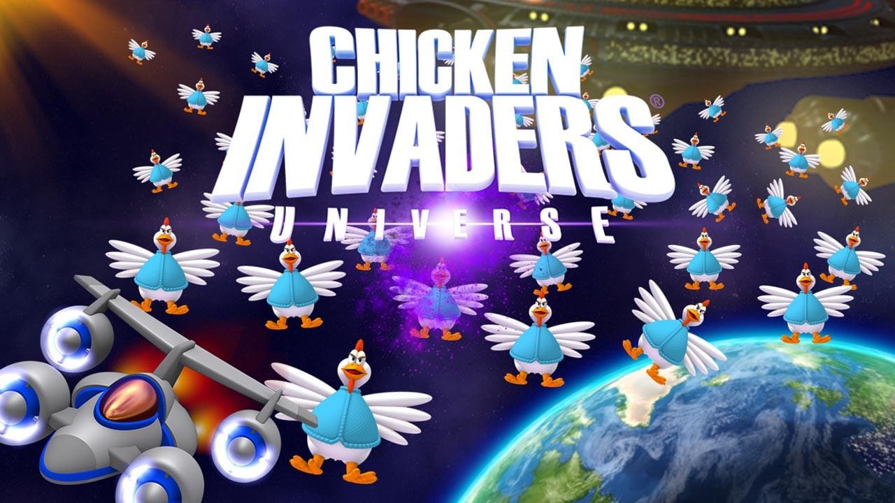 Chicken invaders 5 poster
