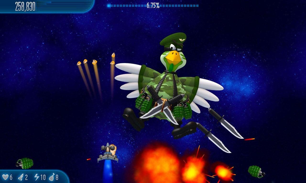 Chicken invaders 5 screen 0