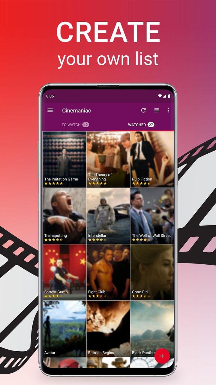 Cinemaniac screen 1