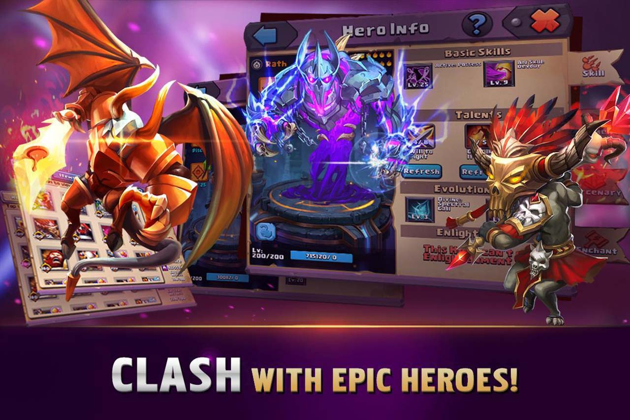 Clash of Lords 2 screen 1