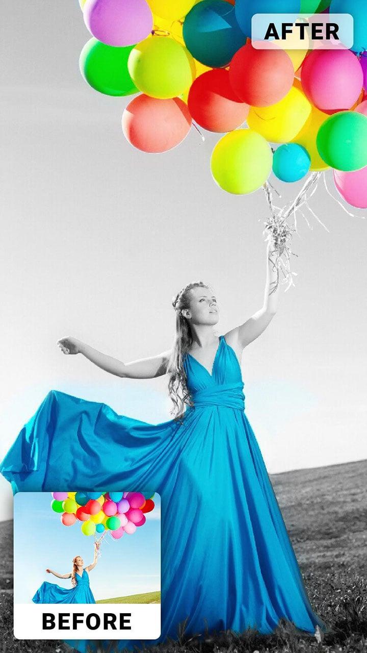 Color Pop Effects screen 10