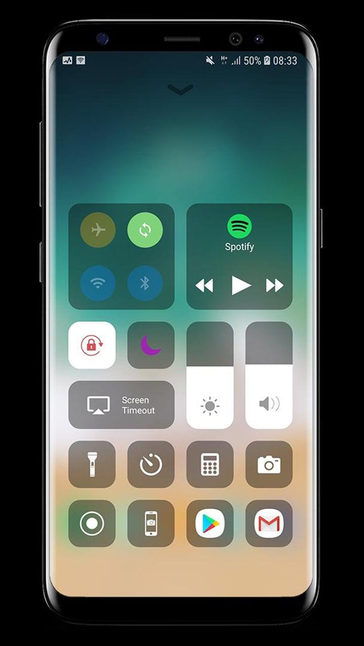 Control Center IOS 13 screen 0