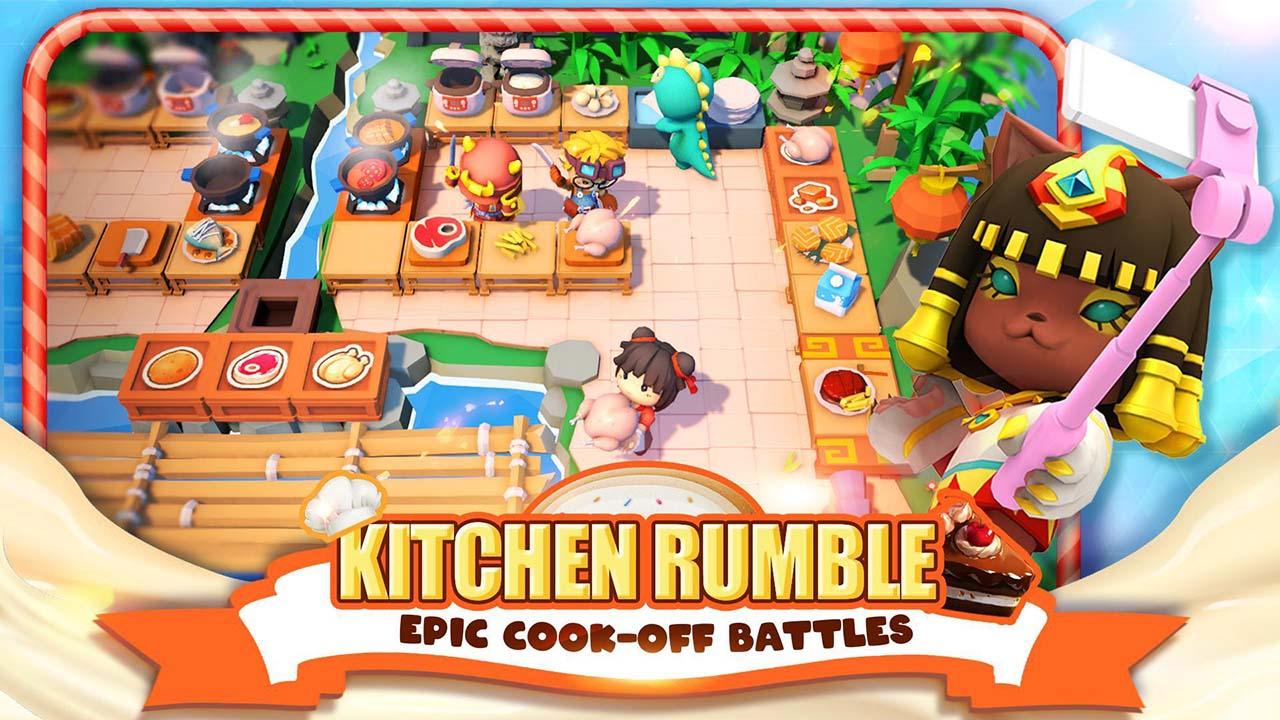 Cooking Battle screen 1