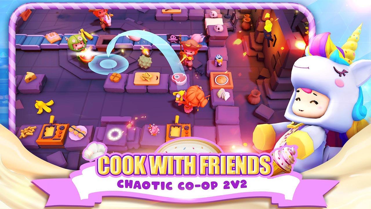 Cooking Battle screen 2