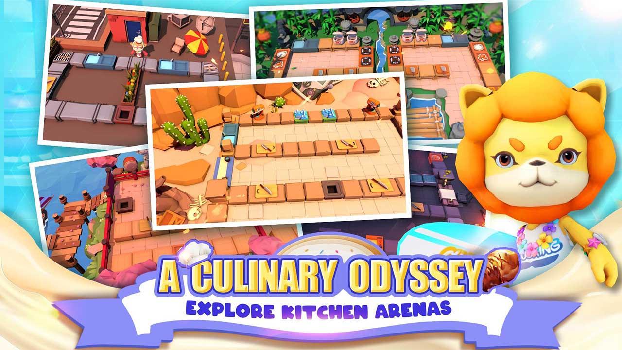 Cooking Battle screen 3