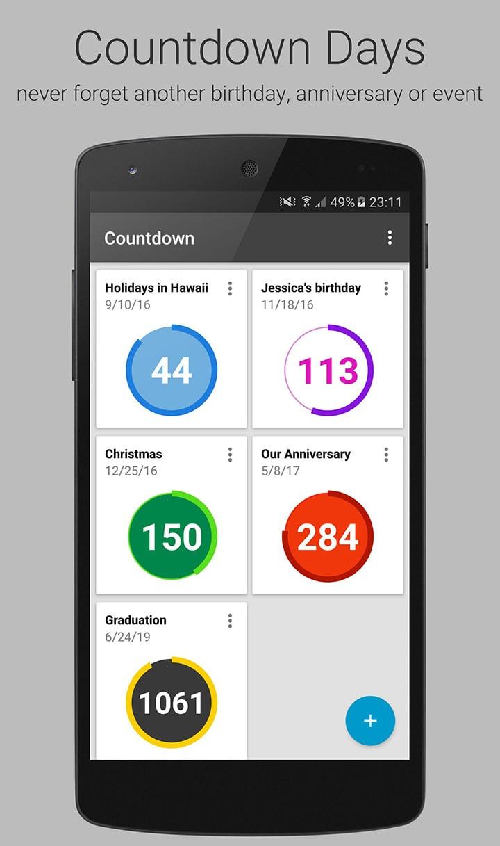 Countdown Widget screen 0