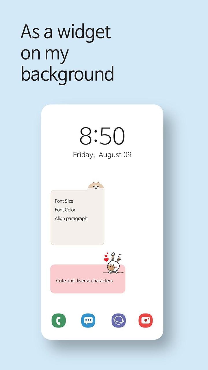 Cute Note screen 5