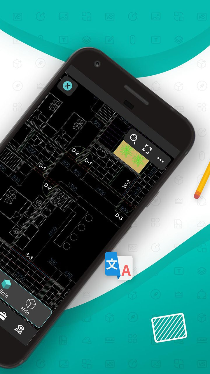 DWG FastView CAD Viewer & Editor screen 1