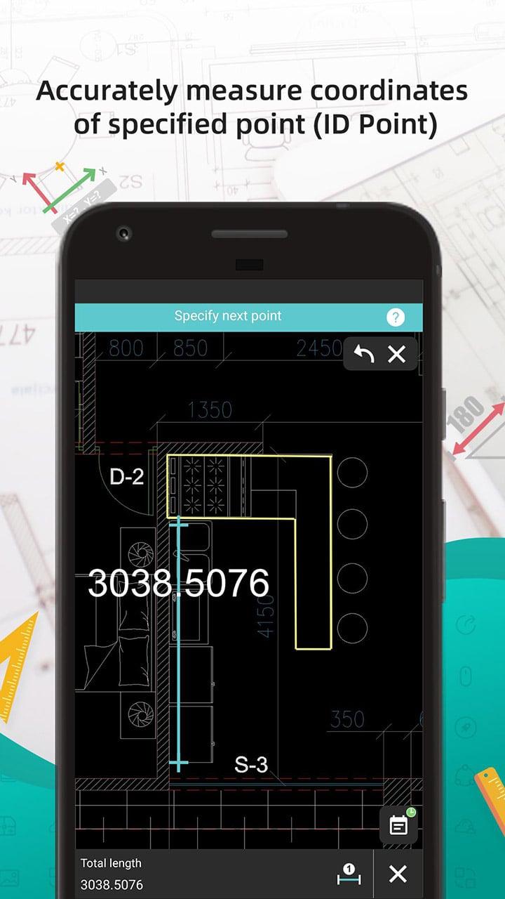 DWG FastView CAD Viewer & Editor screen 3