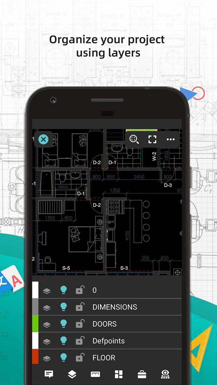 DWG FastView CAD Viewer & Editor screen 4