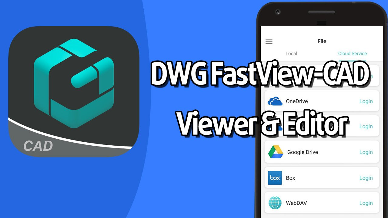 DWG FastView CAD Viewer & Editor poster