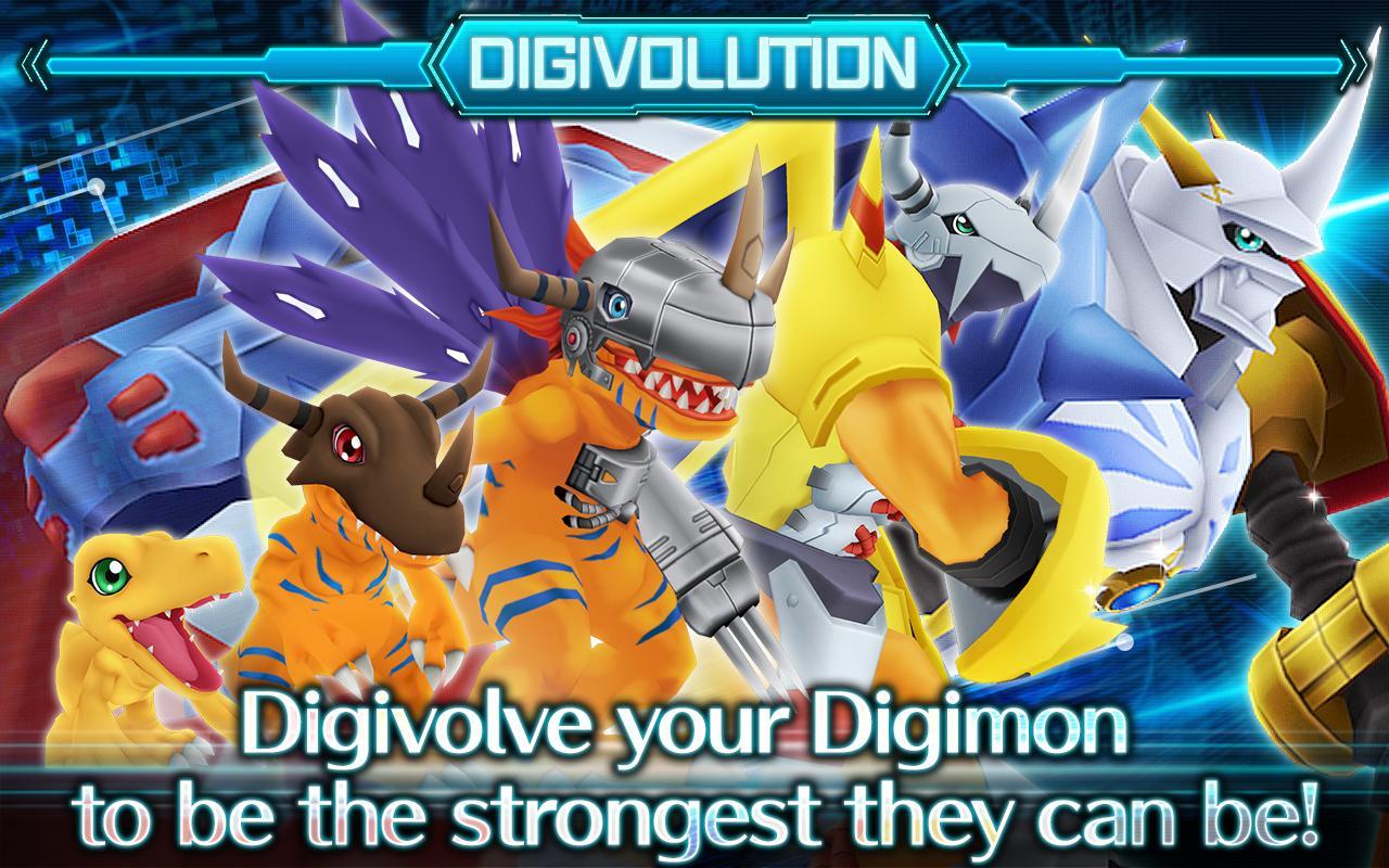 DigimonLinks screen 1