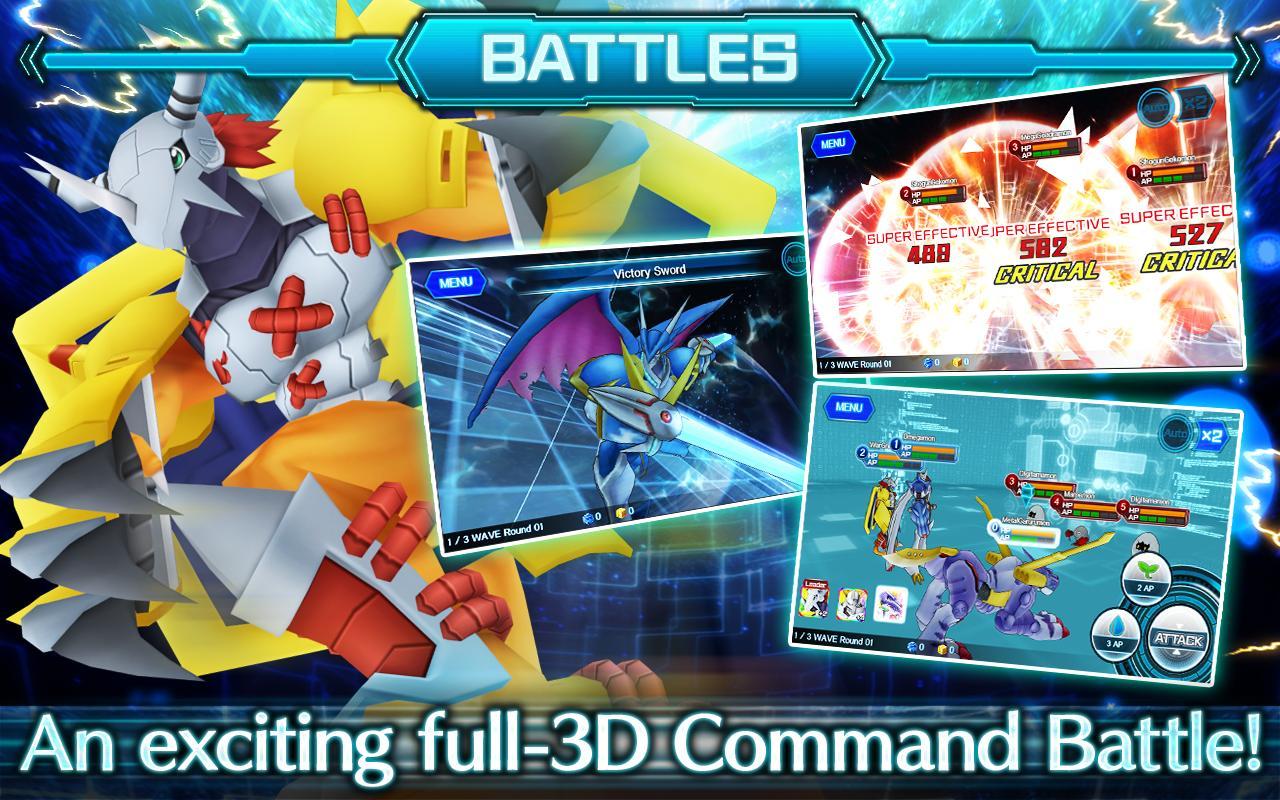 DigimonLinks screen 2