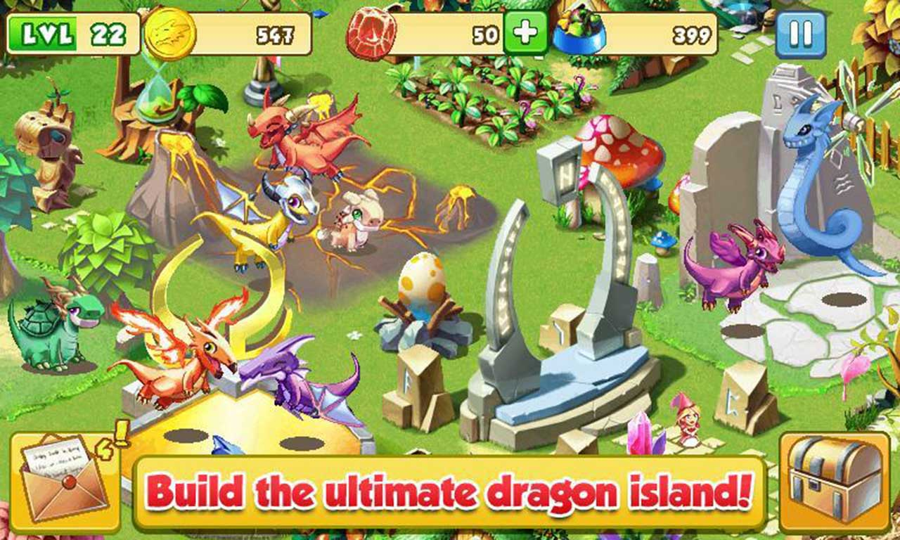 Dragon Mania screen 2