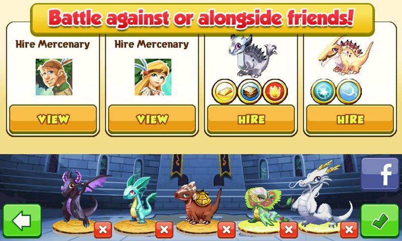 Dragon Mania screen 3