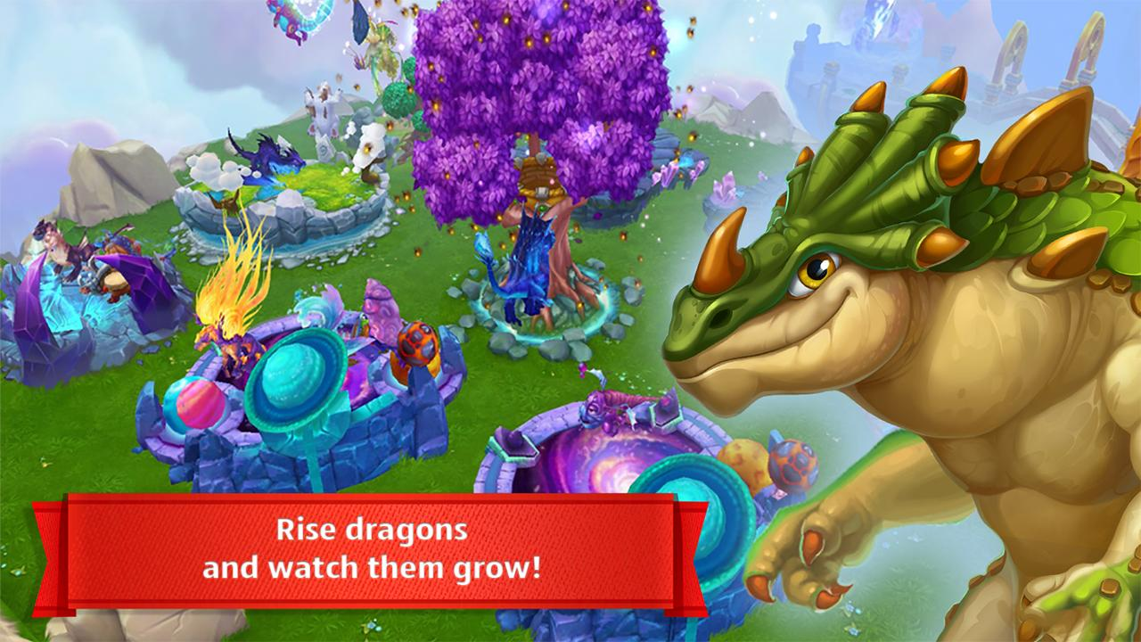 Dragons World screen 1