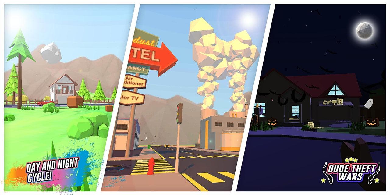 Dude Theft Wars screen 4