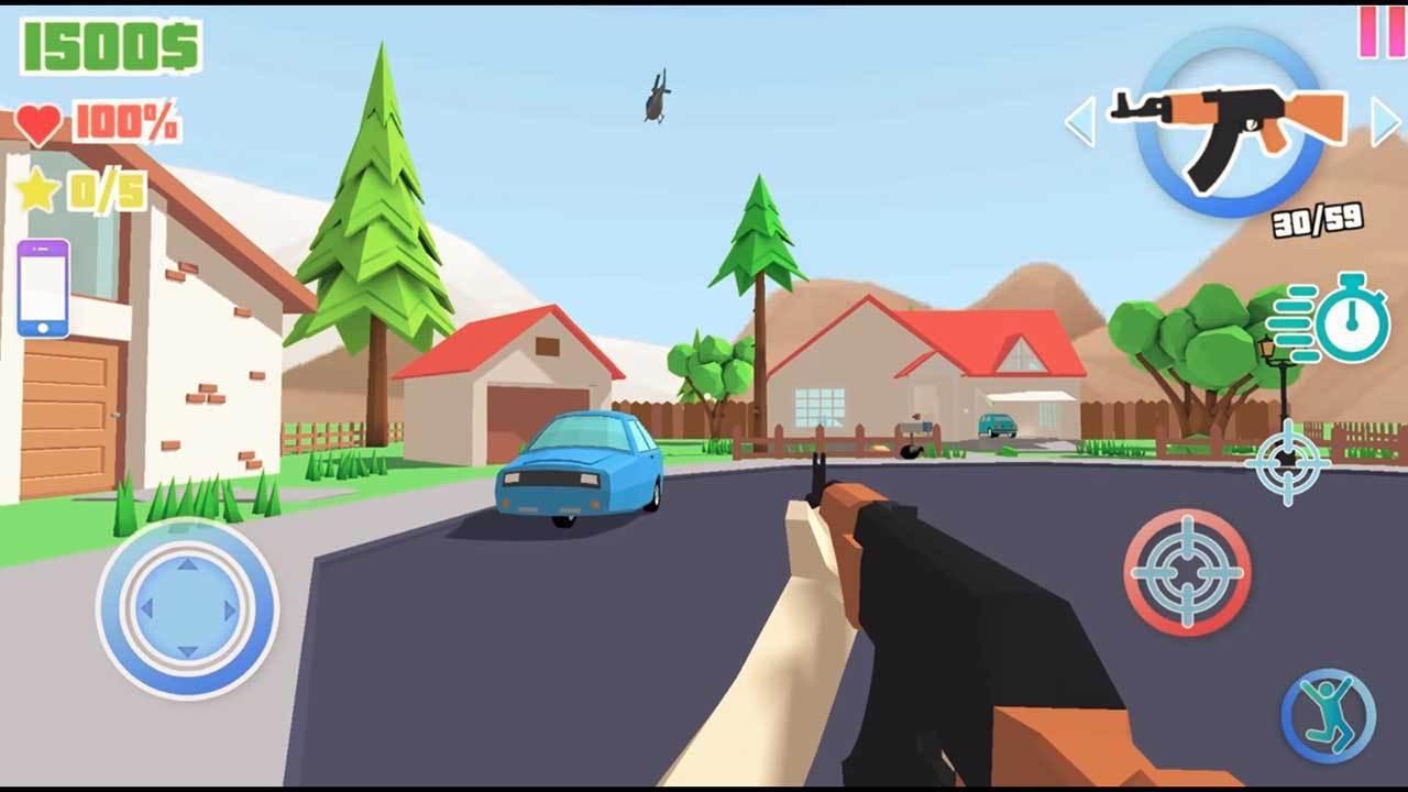 Dude Theft Wars screen 5