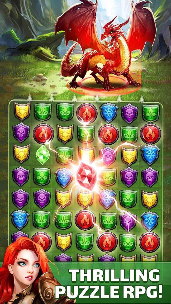 Empires & Puzzles screen 1